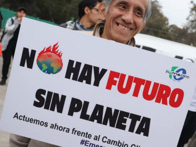 [FOTOS] Así se realizó la Huelga Mundial Contra el Cambio Climático en el Perú