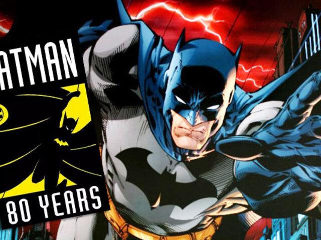 Batman Day: el Caballero Oscuro cumple 80 años