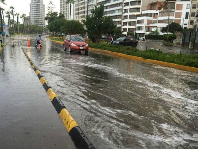 Senamhi: inusual lluvia en Lima podría repetirse en los próximos días