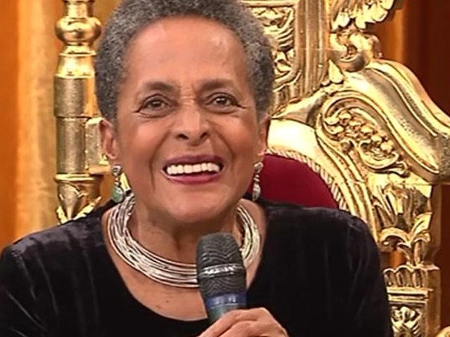 """Susana Baca celebra sus 50 años de carrera en """"Porque hoy es sábado con Andrés"""""""