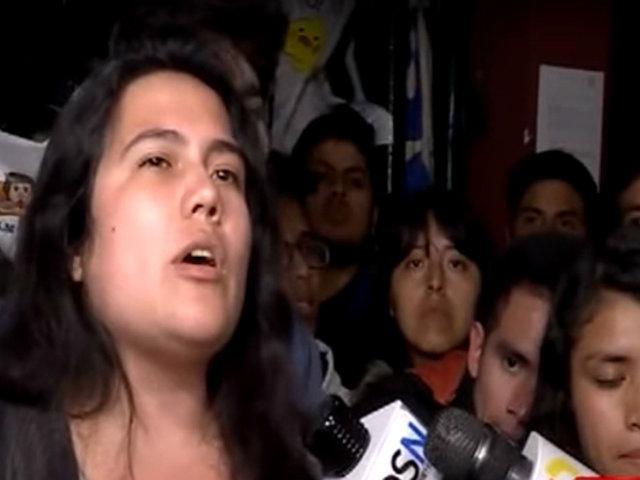 San Marcos: estudiantes suspenden protestas tras mesa de diálogo