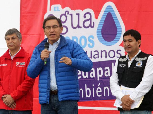 """Martín Vizcarra: """"No pensamos en ningún momento privatizar Sedapal"""""""