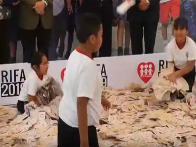 Fe y Alegría realizó sorteo de la Gran Rifa 2019