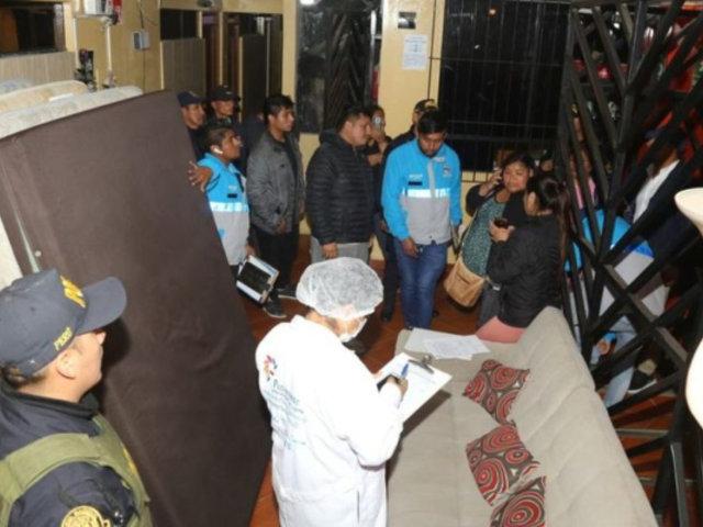 Pachacámac: clausuran hostales donde se ejercía prostitución clandestina