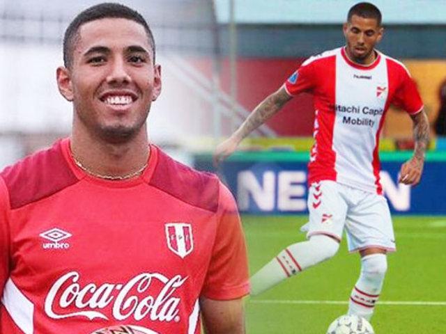 Sergio Peña convirtió un golazo contra el Feyenoord