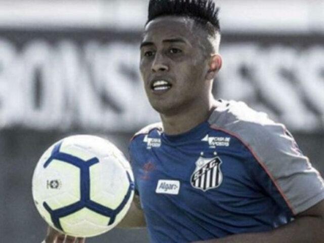 Christian Cueva volvió a ser excluido en el Santos