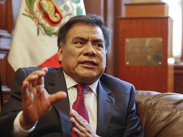 Javier Velásquez se pronunció sobre cuestionamientos a candidatos del TC