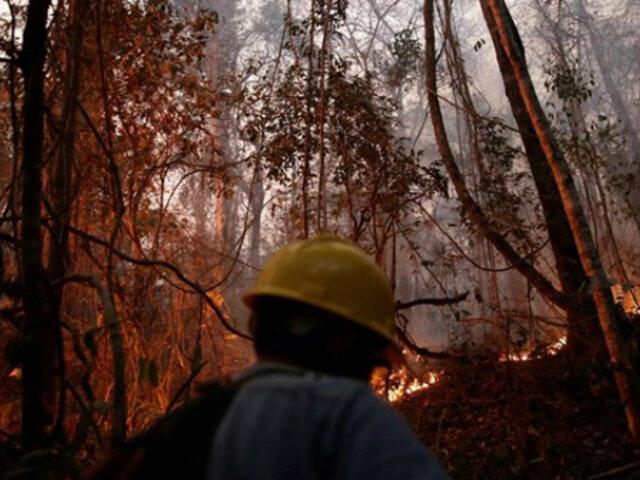 Bolivia: bomberos pierden esperanzas de sofocar las llamas a medida que crece incendio forestal