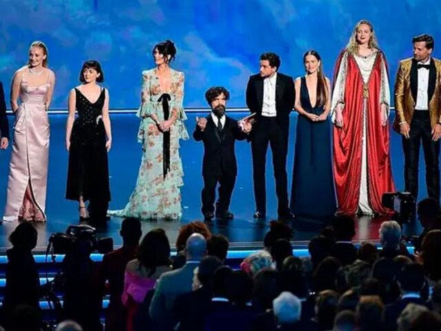 Premios Emmy 2019: Juegos de Tronos se consagró como la mejor serie dramática