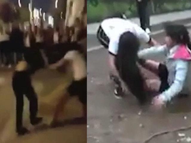 Callao: alumnos protagonizan violentas peleas al interior de colegio