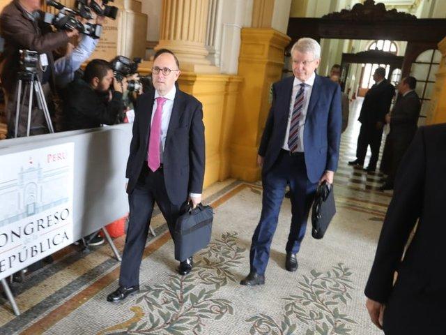 Comisión de Venecia escuchó posturas de las bancadas sobre adelanto de elecciones