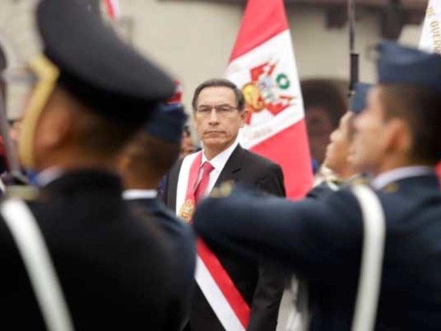 Beto Ortíz habla de un frustrado 'balconazo' de Vizcarra en Chachapoyas