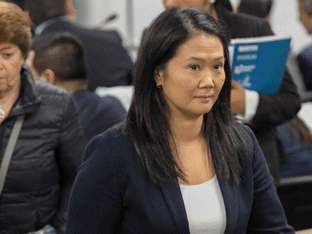 """Keiko Fujimori a su padre: """"Estoy convencida que estar unidos es lo más importante"""""""