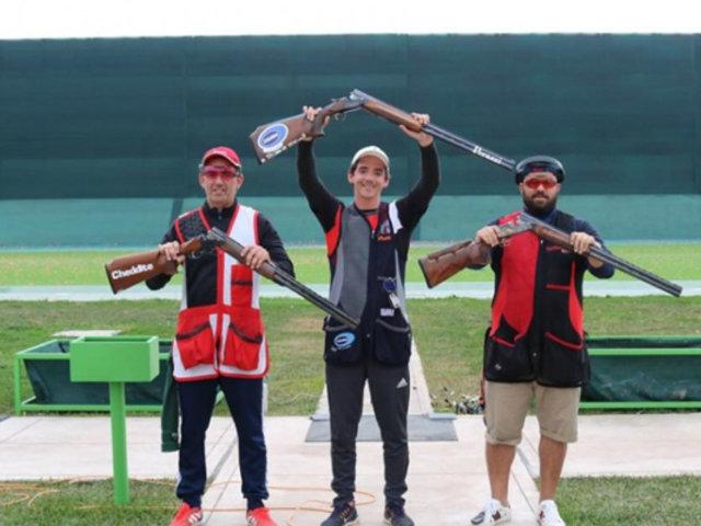 Alessandro de Souza se consagró campeón Iberoamericano de tiro