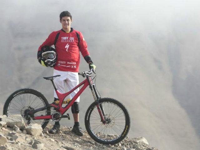 Sebastián Alfaro ganó campeonato sudamericano de Downhill