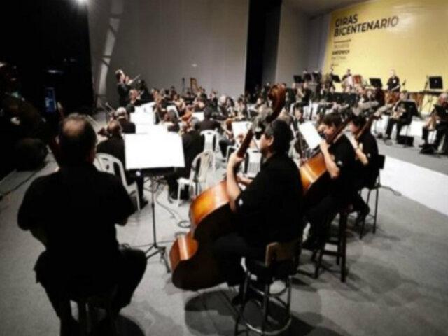Orquesta Sinfónica Nacional deleitó con concierto a la población iquiteña