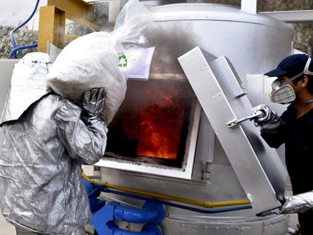 Policía Nacional logra cifra récord al incinerar más de 24 toneladas de droga