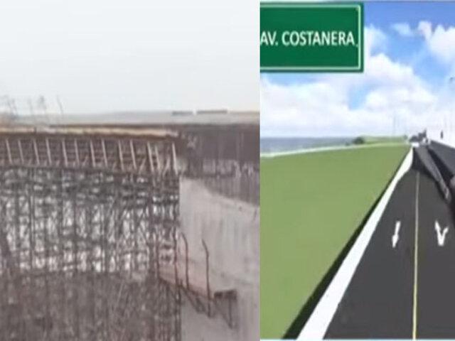 Costa Verde: estos son los avances en la obra que conectará San Miguel con el Callao
