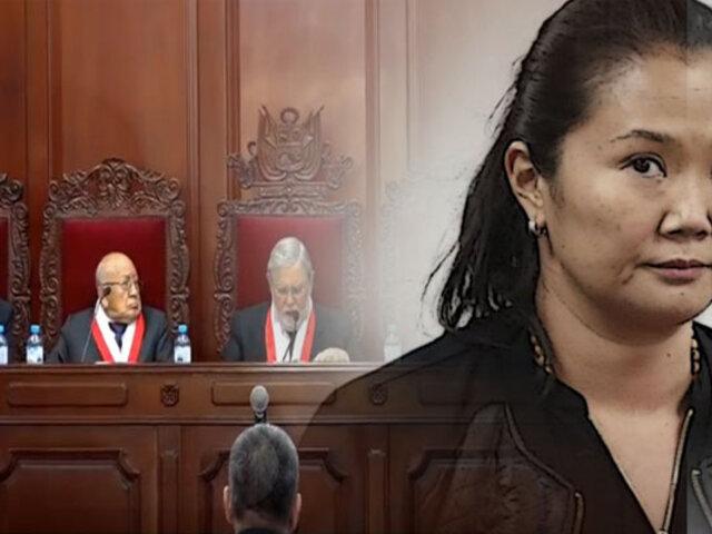 Keiko Fujimori: pleno del TC evaluará su caso a partir del próximo martes 19