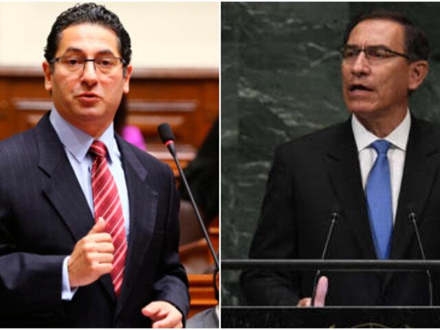 Salvador Heresi: Martín Vizcarra ha hecho un anuncio de golpe de Estado