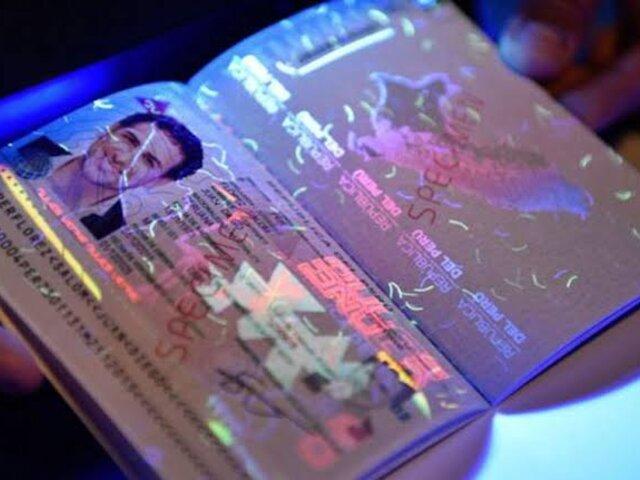 Migraciones suspenderá pasaporte electrónico a ciudadanos procesados por la justicia