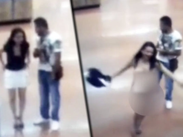 México: mujer se desnudó para demostrar que no estaba robando
