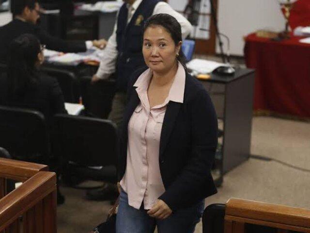 Keiko Fujimori: continúa audiencia que resolverá sobre prisión preventiva