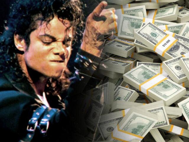 Michael Jackson ha generado 2 mil millones de dólares desde su muerte