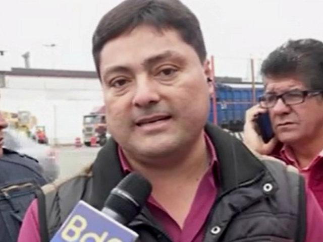 """Gremio de transportistas: """"Alcalde de Lima se dedica a pelear con nosotros"""""""