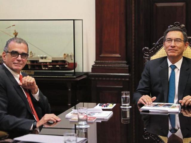 Presidente del Congreso envía mensaje a Vizcarra tras archivamiento de adelanto de elecciones