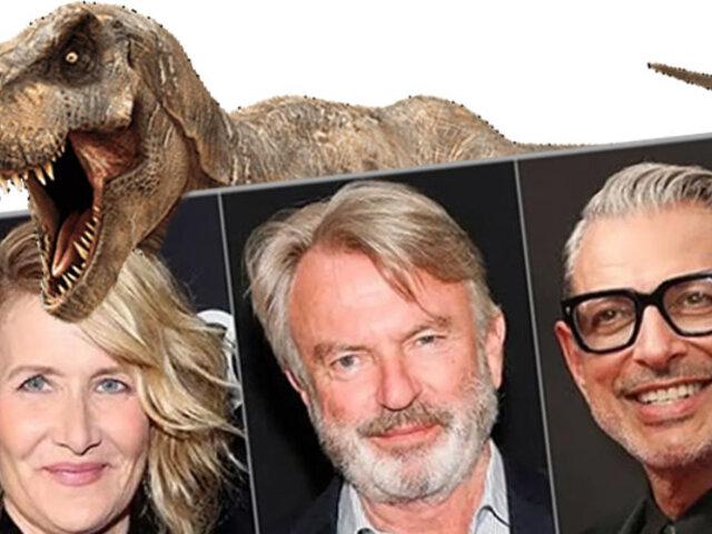 Jurassic Park: el reparto original regresa para nueva entrega de la saga