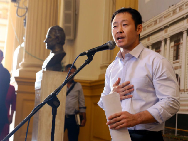 Kenji Fujimori planteó postergar elección de miembros del Tribunal Constitucional