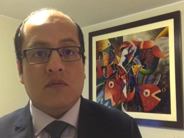 Víctor Hugo Quijada: De negarse la confianza podría haber una crisis total en el gabinete