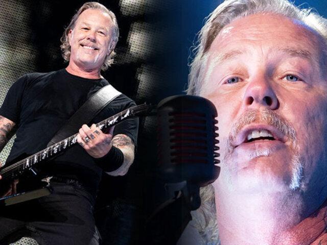 Metallica suspende su gira mundial por los problemas personales de su vocalista