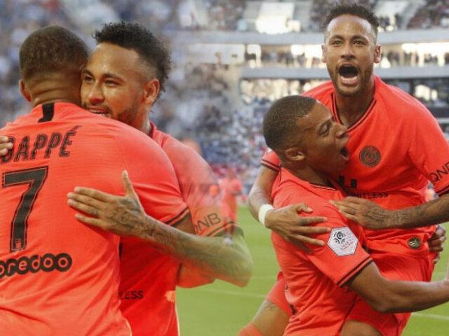 Neymar salva de nuevo al Paris Saint-Germain