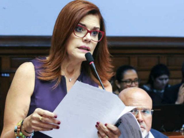 Vicepresidenta Araoz votó a favor del primer magistrado del TC elegido por el Congreso