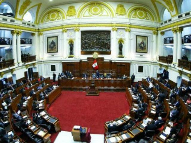 Pleno virtual del Congreso no alcanzó votos para eliminar inmunidad parlamentaria