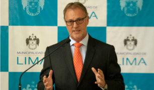 Jorge Muñoz se mostró a favor de decreto de urgencia para reactivar obras paralizadas