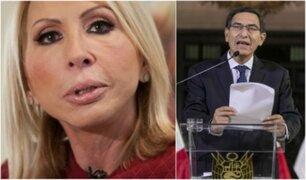 Laura Bozzo sobre disolución del Congreso: ''Vamos directo a convertirnos en otra Venezuela''