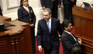 Salvador del Solar: así fue su accidentado ingreso al Pleno del Congreso