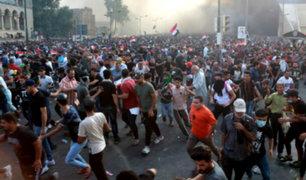 Irak: un muerto y más de 200 heridos deja protesta contra corrupción