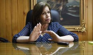 Lourdes Flores se pronunció tras cierre del Congreso de la República