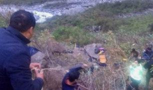 Cusco: 10 muertos y 4 heridos tras despiste de bus a abismo