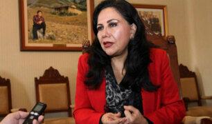Gloria Montenegro renunció al cargo de ministra de la Mujer