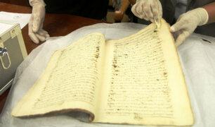 Recuperan libro peruano del siglo XVIII que era ofertado en Chile