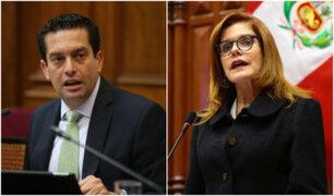 Congresista Torres defendió juramentación de Araoz como presidenta interina