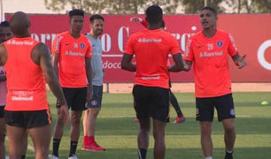 VIDEO: Paolo Guerrero discutió con compañero durante práctica del Inter