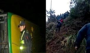 Cusco: se eleva a 23 la cifra de fallecidos tras caída de bus a abismo