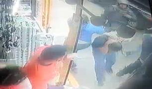 Hombre es agredido por la Policía en Abancay