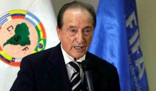 """FIFA inhabilitó """"de por vida"""" a exdirigente de Conmebol Eugenio Figueredo"""
